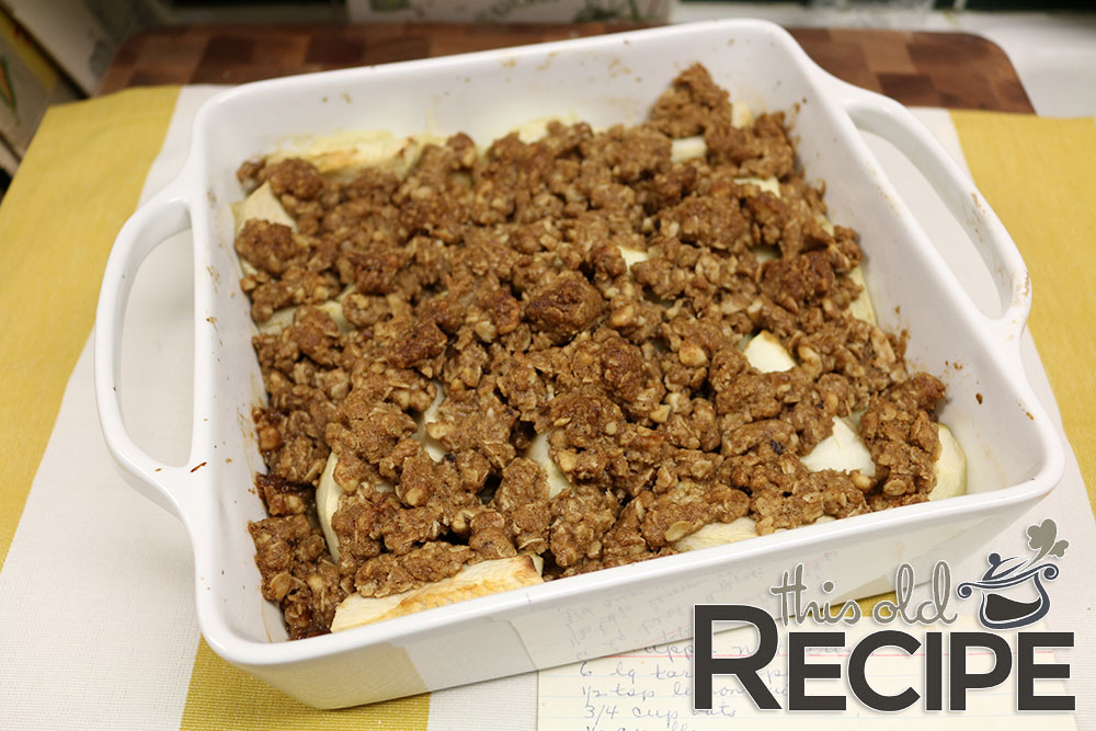 Grandma's Apple Nut Crisp Recipe
