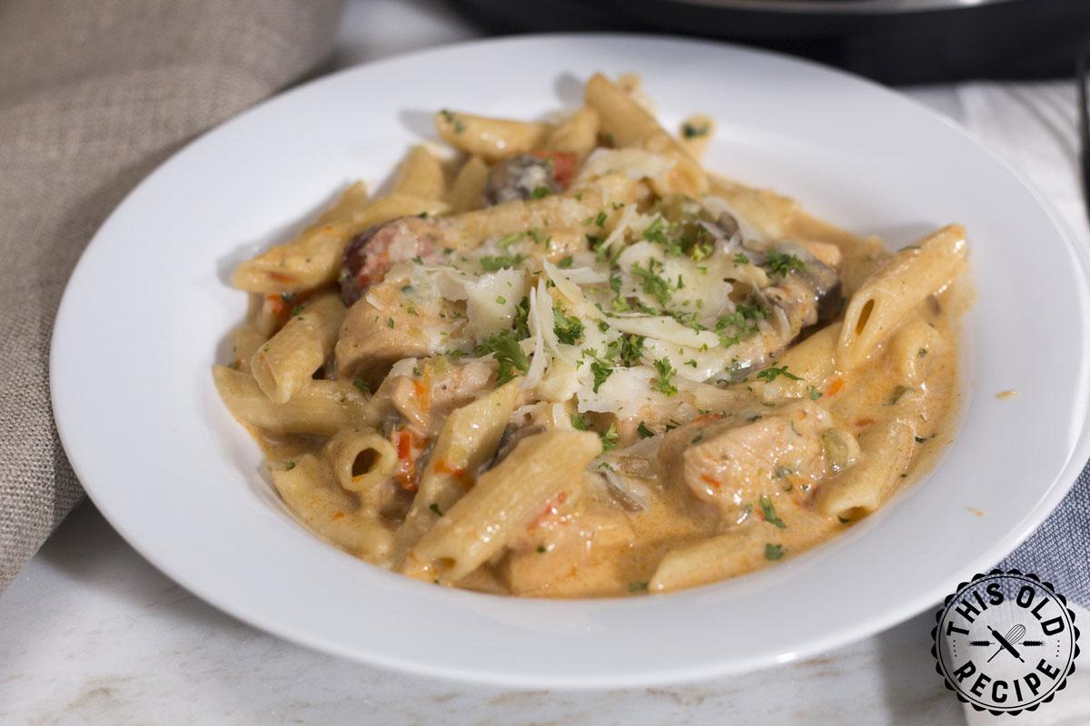 creamy chicken pasta instant pot